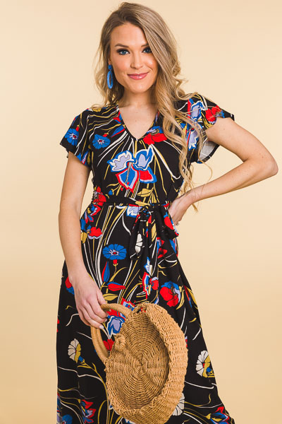 Knit Maxi, Deco Floral