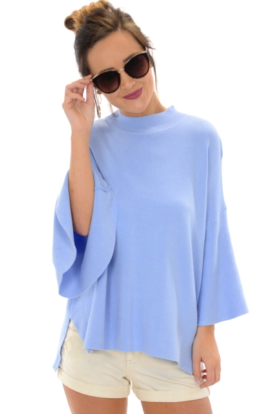 Angelic Sweater, Baby Blue