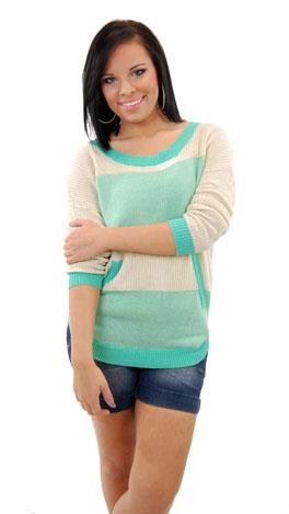 Spearmint Sweater