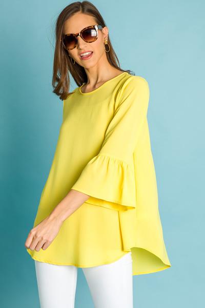 Bethany Tunic, Yellow