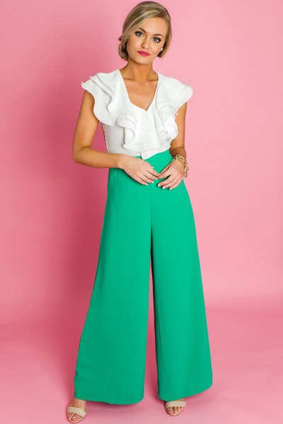 Paris Pants, Green