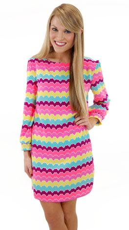 Bright Delight Dress, Pink