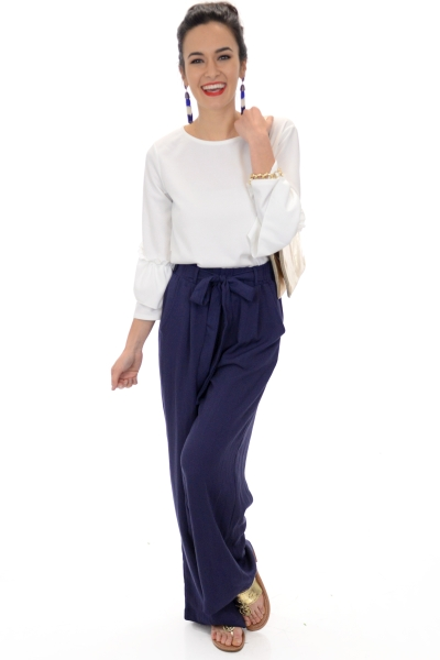 Beach Breeze Pants, Navy