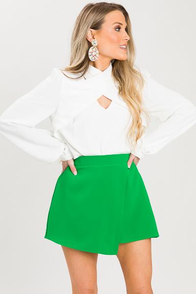 Lolita Skort, Green