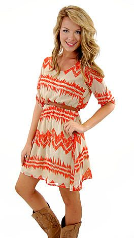 Belted Babe Dress