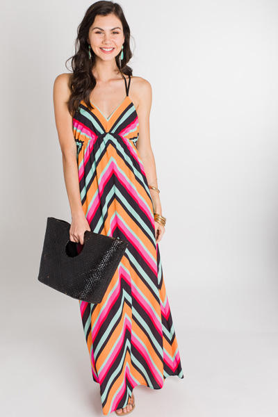 Creamsicle Stripes Maxi