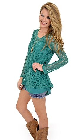 Just for Girls Top, Jade