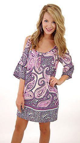 Snatch And Grab Dress, Purple