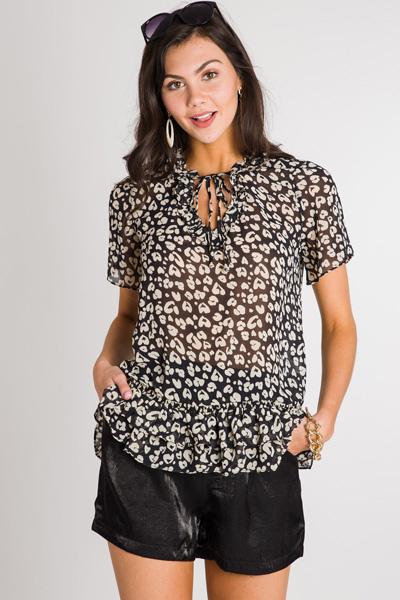 Panther Love Blouse