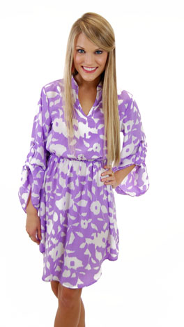 Perfectly Purple Frock