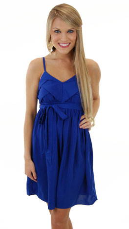 Born to Be Blue Dress