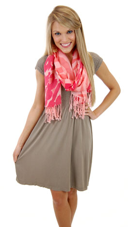 So Soft Dress Sandstone
