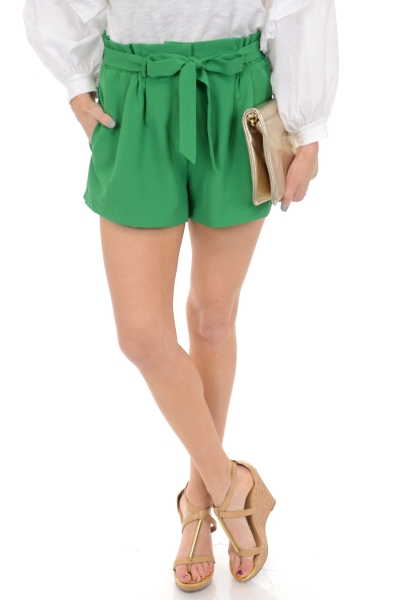 Electric Green Shorts
