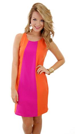 Pink Grapefruit Dress