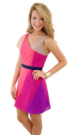 Berry Twist Dress