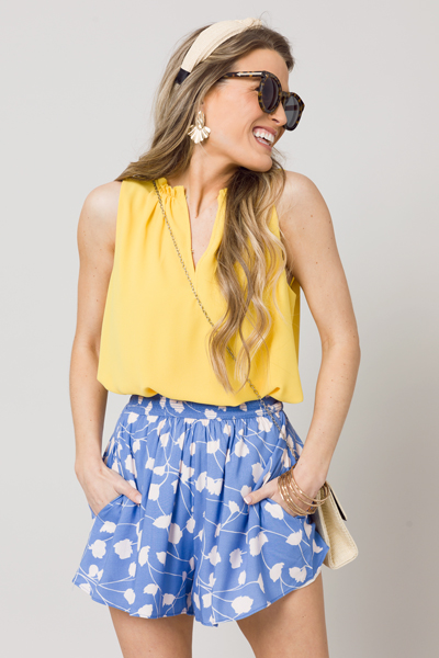 Bella Blooms Shorts