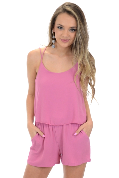 The Perfect Romper, Rose