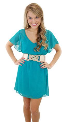 The Libby Dress, Jade