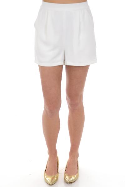 Classic Ivory Shorts