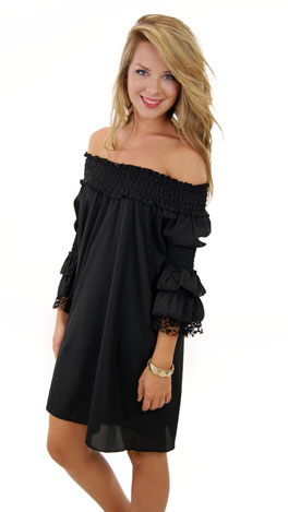 Joys R Us Dress, Black