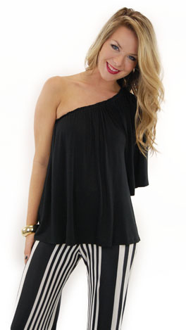 Sex And The City Top Black
