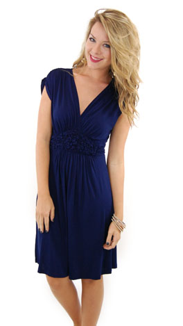 Fit That Flatters, Navy