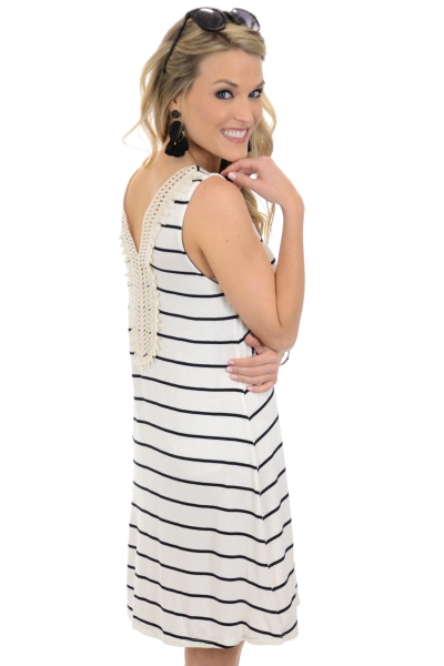 Grace Striped Dress