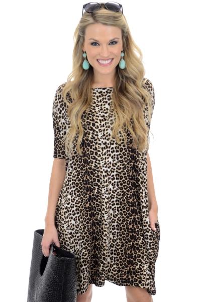 Lang Leopard Frock
