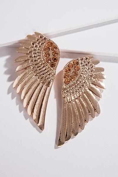 Fly Away Earring, Rose Gold