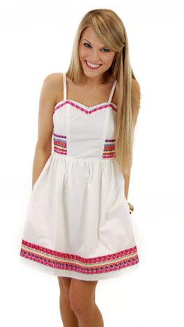 White Noise Dress
