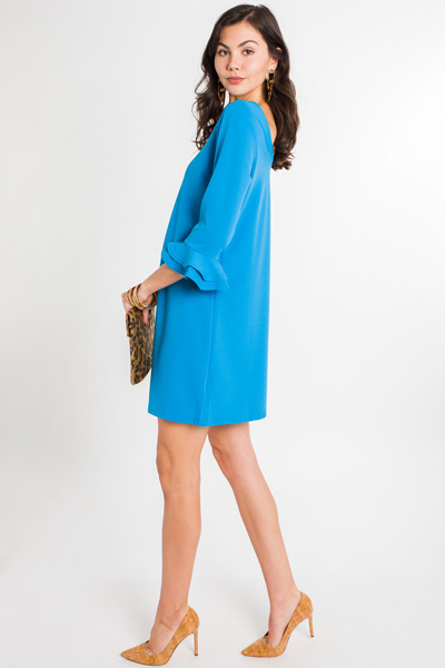 Richi Dress, Blue