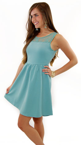 Dallas Dress, Green