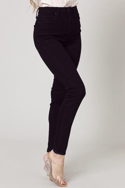 Soft Black Skinny Jeans
