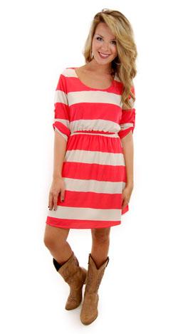 Hilton Head Dress, Coral