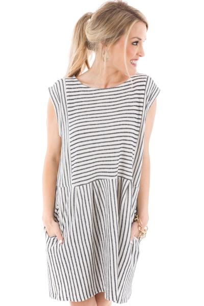 Maverick Striped Dress
