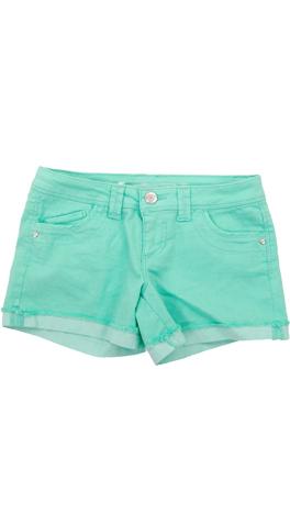Cut Off Cuff Shorts, Mint