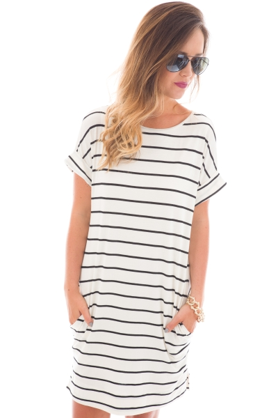 Sarah Striped Dress