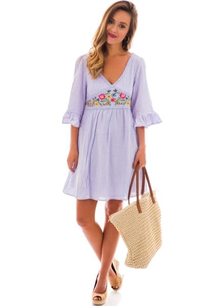 Zahara Dress, Lilac