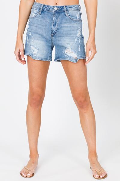 Meredith Denim Shorts