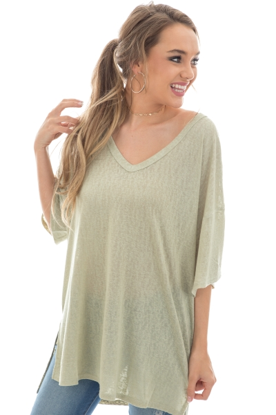 Summer Time Tunic, Sage