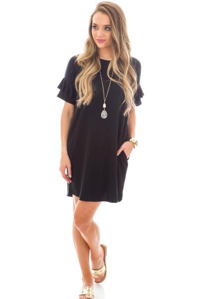 Good Thing Dress, Black