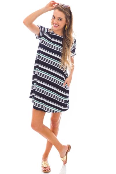 Casey Striped Dress