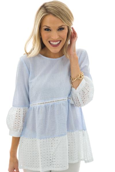 Summer Lace Tunic
