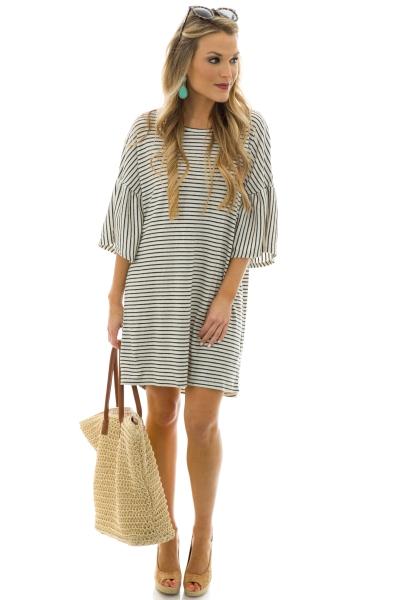 Adelyn Striped Dress