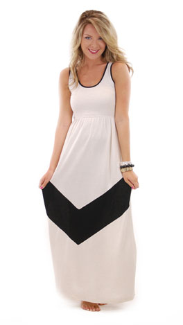 French Terry Maxi, Cream