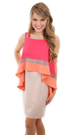 Frances Flounces Dress