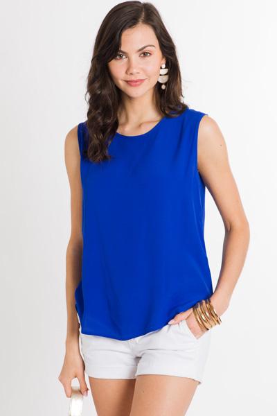 Stacy Tank, Royal Blue