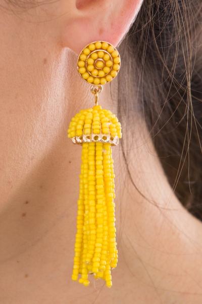 Cruise Cutie Earring, Yellow