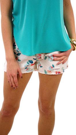 Rose Garden Denim Shorts