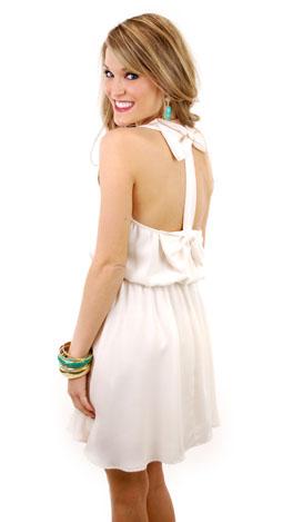 What a Flirt Dress, Ivory
